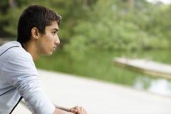 Menino indiano adolescente Imagens de Stock Royalty Free