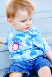 Menino infantil Imagem de Stock Royalty Free
