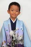 Menino japonês no festival de Seven-Five-Three Foto de Stock