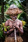 Menino Melanesian Foto de Stock Royalty Free