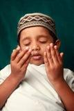 Menino muçulmano Fotografia de Stock Royalty Free
