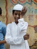 Menino muçulmano Foto de Stock