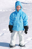 Menino no inverno Imagem de Stock Royalty Free