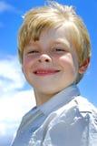 Menino novo de sorriso Imagem de Stock Royalty Free