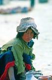 Menino novo, Peru Fotografia de Stock