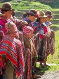 Menino peruano Foto de Stock Royalty Free