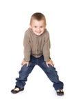 Menino pré-escolar foto de stock royalty free
