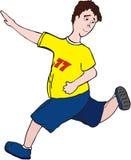 Menino Running Fotografia de Stock Royalty Free