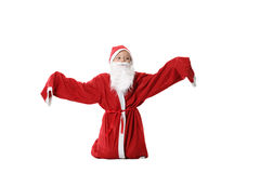 Menino - Santa Foto de Stock Royalty Free