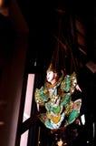 Menino tailandês do estilingue dos iaques Imagens de Stock