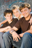 Meninos adolescentes Imagem de Stock
