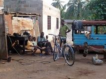 Meninos africanos Imagem de Stock
