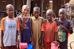 Meninos africanos Fotos de Stock
