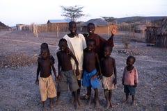 Meninos africanos Fotografia de Stock Royalty Free