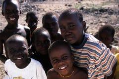 Meninos africanos Imagens de Stock Royalty Free