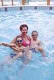 Meninos com sua mãe Fotografia de Stock Royalty Free