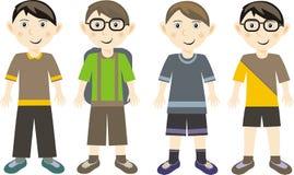 Meninos das crianças Imagem de Stock Royalty Free