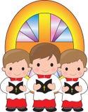 Meninos de altar Foto de Stock Royalty Free