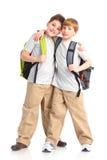 Meninos de escola Fotografia de Stock Royalty Free