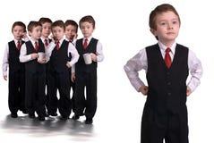 Meninos do negócio Imagem de Stock