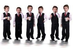 Meninos do negócio Imagens de Stock