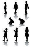 Meninos e meninas Fotografia de Stock