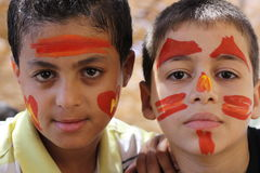 Meninos egípcios novos Fotos de Stock
