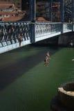 Meninos faz o Rio Imagem de Stock Royalty Free