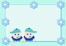 Meninos gêmeos Imagem de Stock