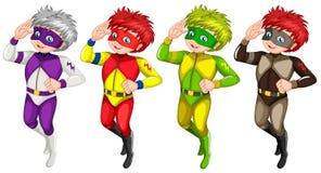 Meninos no uniforme Imagens de Stock Royalty Free