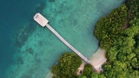 Menjangan, Bali widzieć od above z truteń kamerą zbiory