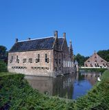 The Menkemaborg a castle in Uithuizen Royalty Free Stock Photos