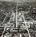 Menlo Park Aerial Photos - 1968 Royalty Free Stock Photos