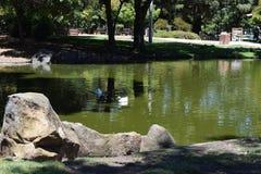 Menlo Park, Kalifornien stockbild
