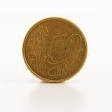 menniczy centu euro Obraz Royalty Free