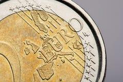 menniczy euro Zdjęcia Stock