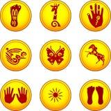 menniczy symbole Zdjęcie Royalty Free