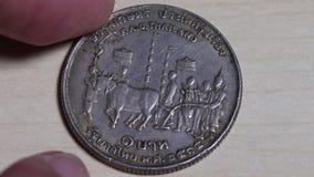 Menniczy Tajlandzki jest stary zdjęcie wideo
