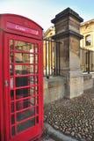 Menniczy telefoniczny pudełko, Oxford Fotografia Royalty Free