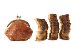 menniczy złoto Zdjęcie Stock