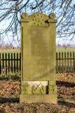 Mennonite公墓 免版税库存照片