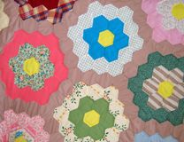 Mennonite quilt Royalty Free Stock Photos
