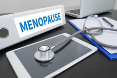 MENOPAUSE Stock Images