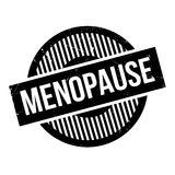 Menopause rubber stamp Stock Photos