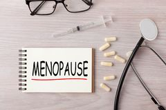 Menopause Womens Health royalty free stock image