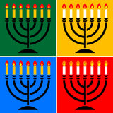 Menorah Photos stock