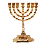 Menorah fotografia stock