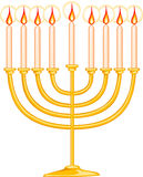 Menorah Stockbild