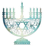 Menorah Immagine Stock