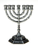 Menorah image stock